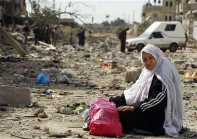 Kehancuran Akibat Serangan Israel ke Gaza