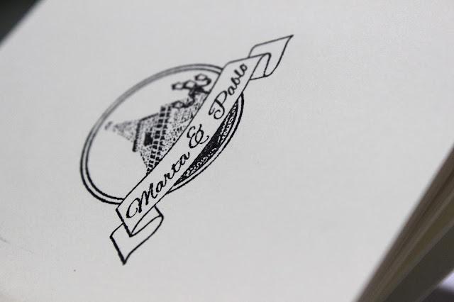 sello personalizado boda DIY hermanas bolena