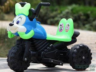 Xe máy điện trẻ em đầu Mickey 5188