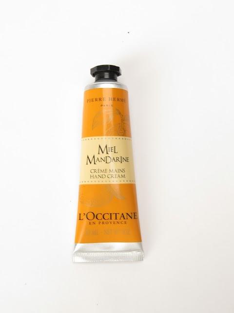 L`Occitane miel mandarine Medaus ir mandarinų rankų kremas