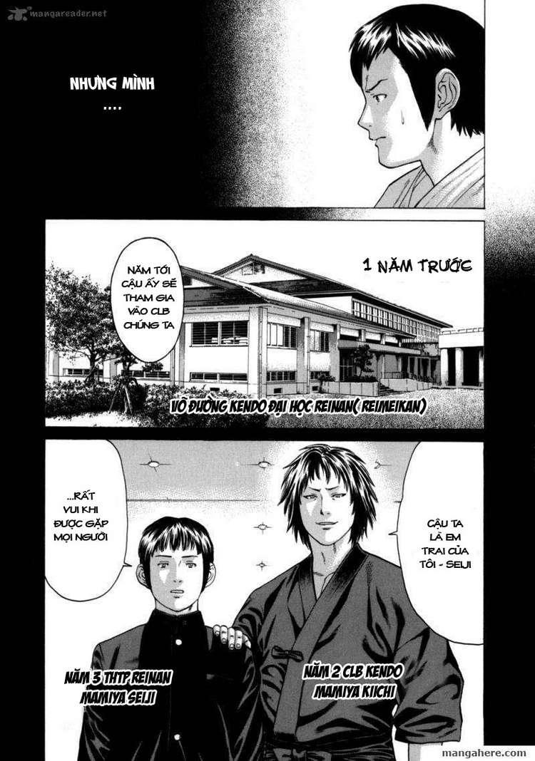 Karate Shoukoushi Kohinata Minoru chap 81 Trang 8