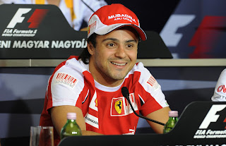 felipe massa at magyar nagydij press meet
