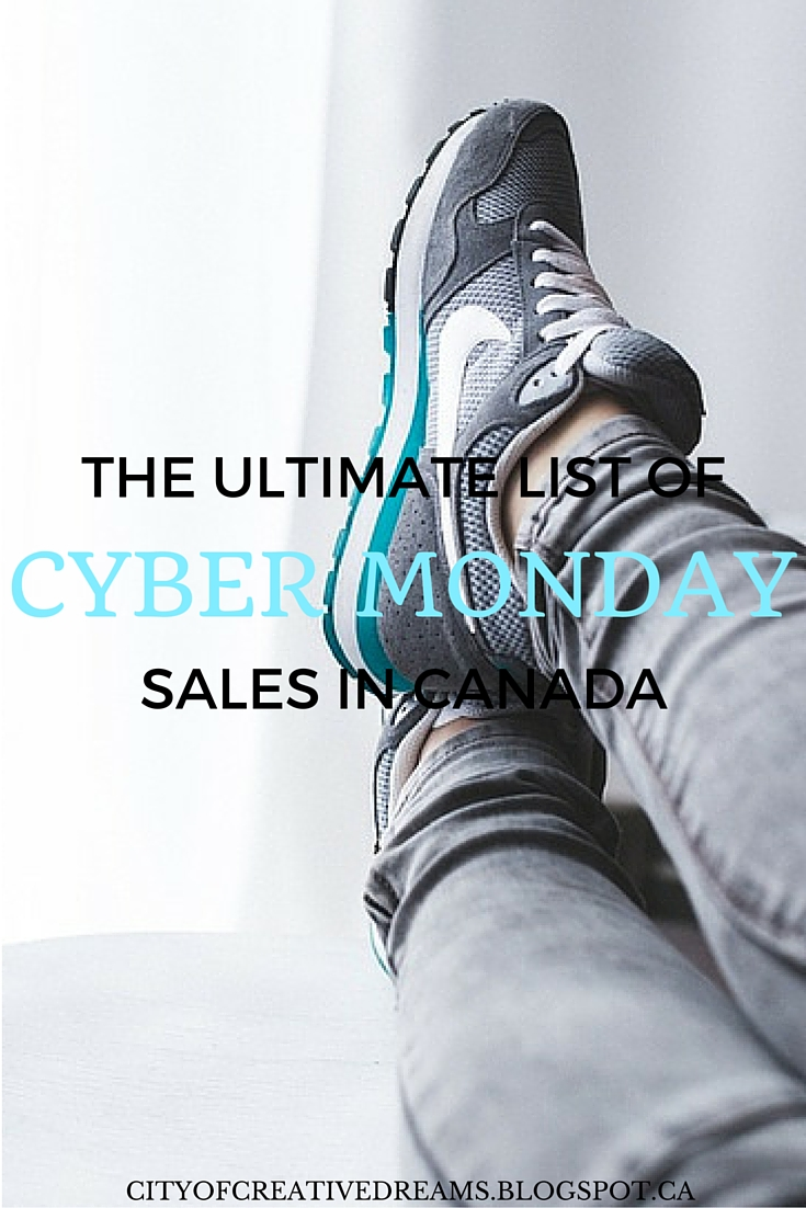 cyber monday sales list in canada 2015