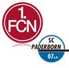 FC Nürnberg - SC Paderborn