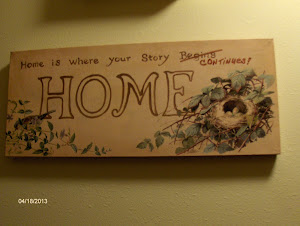 Home is where your story...continues!