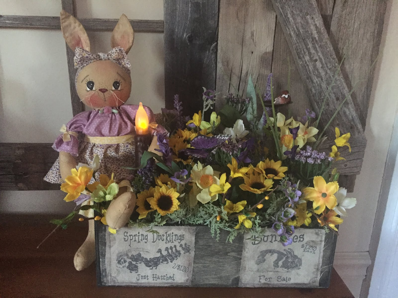 Farmhouse Bunny box