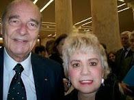 M. Jacques CHIRAC & Morgane BRAVO