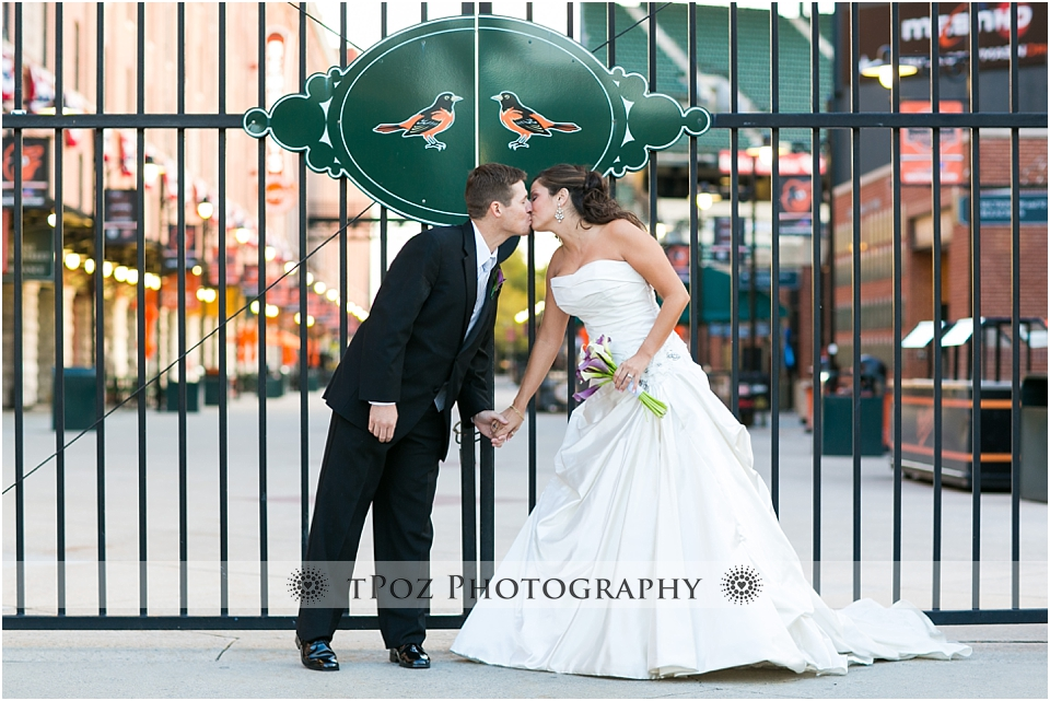 The Sports Legends Museum at Camden Yards Wedding