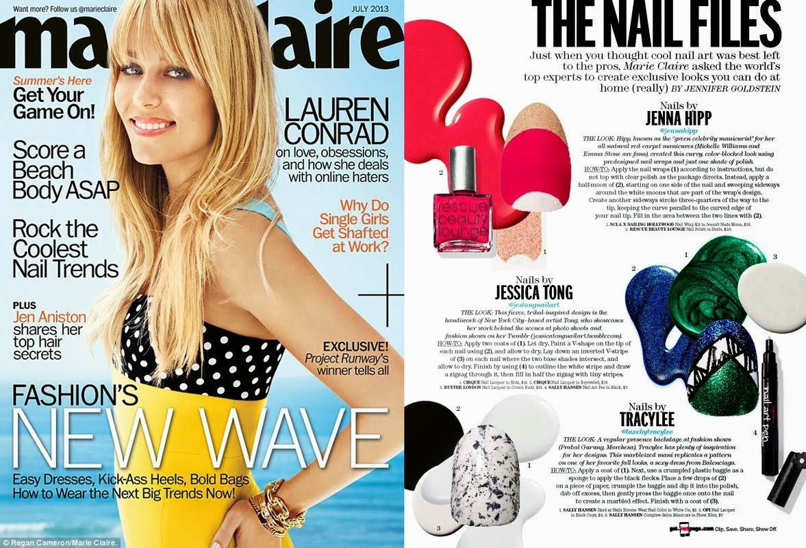 July 2013 Marie Claire