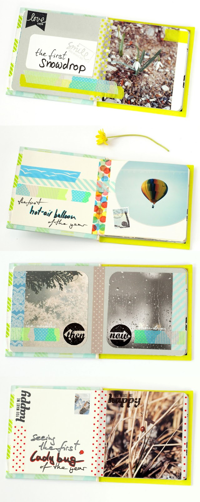 spring fling: minialbum 'i love spring' pages in detail by momentstolivefor