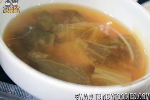 makchang miso soup