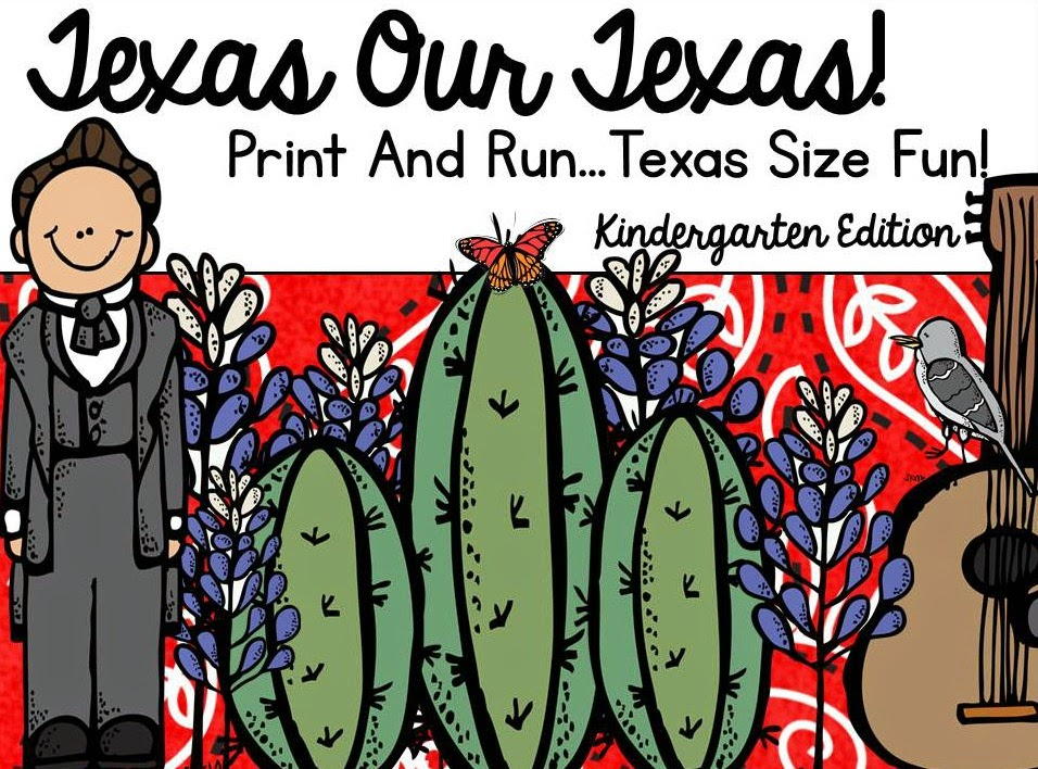 https://www.teacherspayteachers.com/Product/Lets-Celebrate-Texas-Our-Texas-Print-And-Go-220287