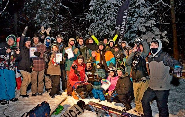 Сноубордисты открыли сезон в Лозе Сергиев Посад