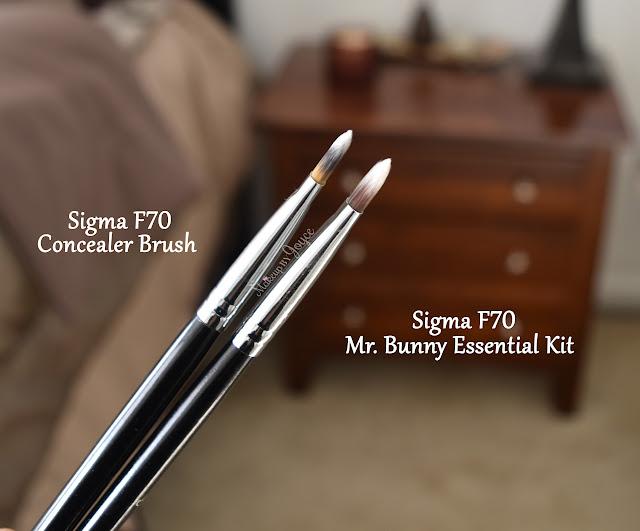 Sigma F70 Concealer Brush Dupe