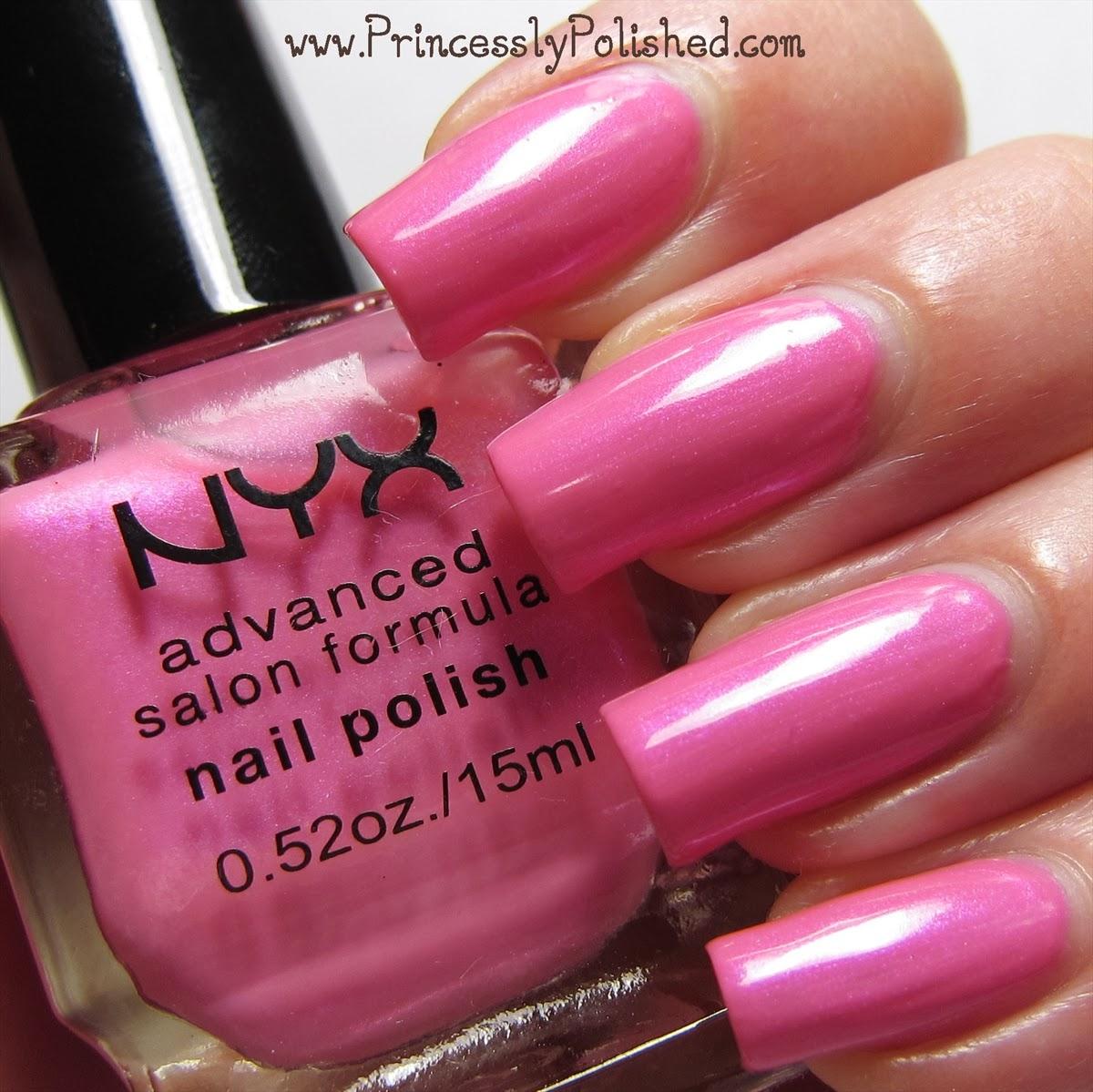 Princessly Polished: Nyx Advanced Salon Formula Nail