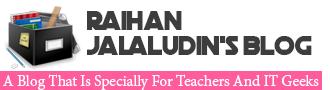 Raihan Jalaludin's Blog