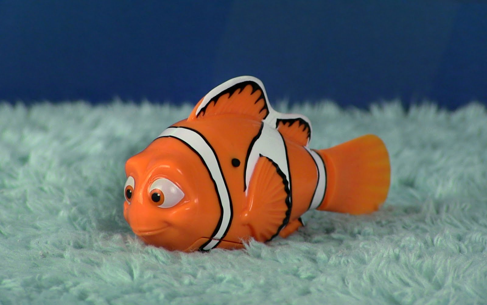 dan the pixar fan finding dory swimming robo fish