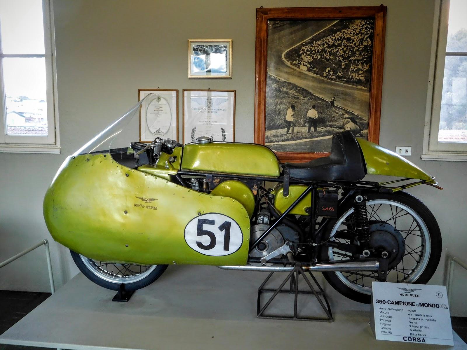 Tigho NYDucati: 1955 Moto Guzzi Campione del Mondo