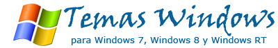 Temas para Windows 7 y Windows 8