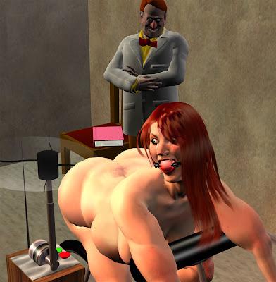 3d otk spanking