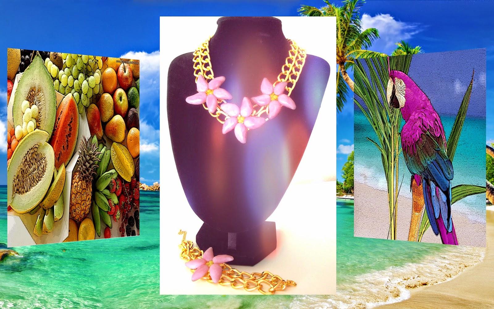 Toque tropical colección primavera verano 2014