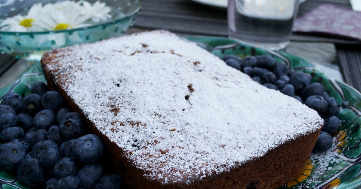 Healthy Blueberry Loaf Cake Recipe