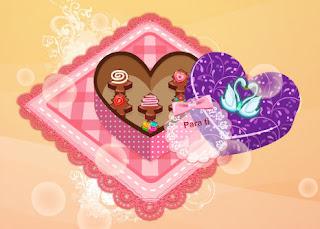 Juego de hacer chocolates de San Valentin