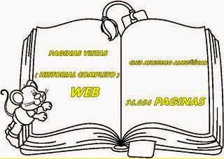 VISTAS PAGINAS DE LA WEB
