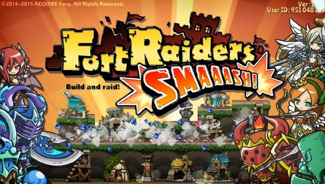 Fort Raiders SMAAASH! Gameplay IOS / Android
