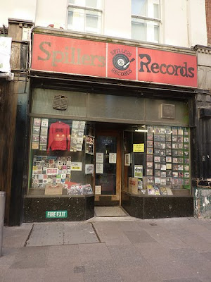 Spillers Records Previous Location
