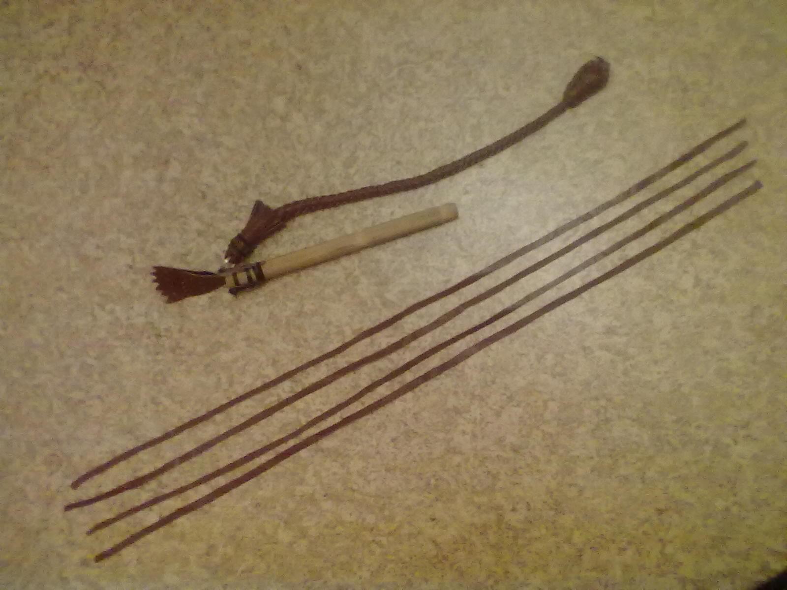Плетение на палках