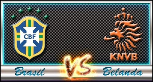 Saksikan Secara Live Brasil vs Belanda - BerbagiPrediksi.Blogspot.com