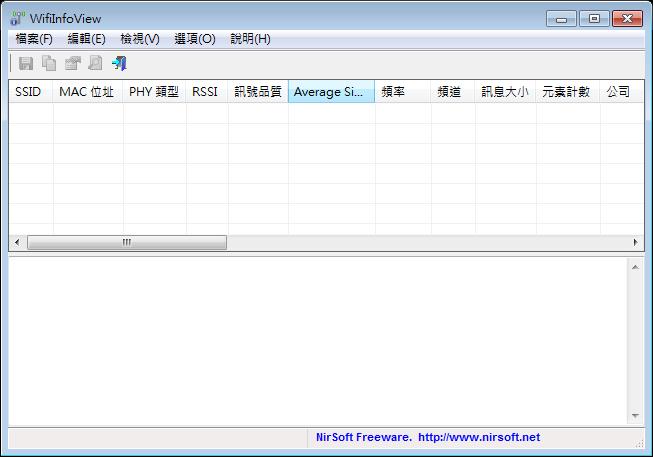 WiFi無線網路訊號測試軟體推薦:WifiInfoView Portable 免安裝版下載,無線網路訊號不穩時可用