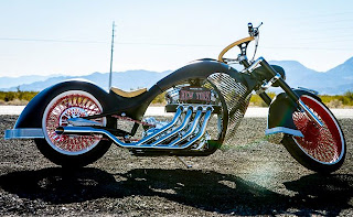 hear Paul Jr.'s monstrosity of a bike won the popularity contest
