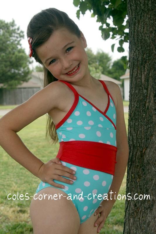 Little Girl Swimsuit Coles Corner Creation