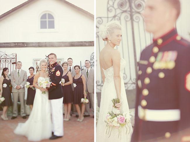 Life Of A Vintage Lover Real Wedding Vintage Military Wedding