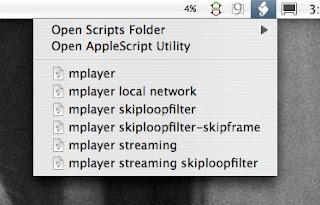 AppleScript menu