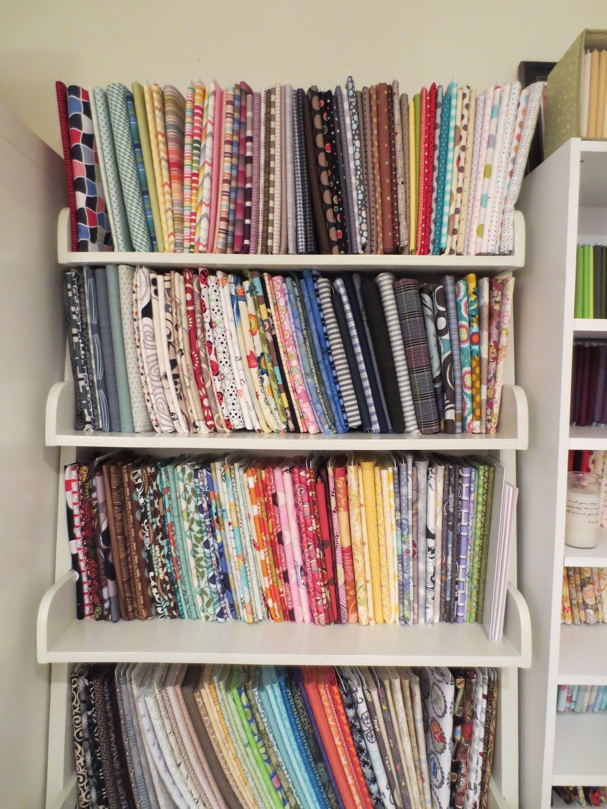 Classroom Storage Ideas ~ Facs classroom ideas fabric storage