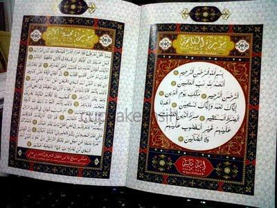 Gambar Kad Kahwin Ashraf Muslim