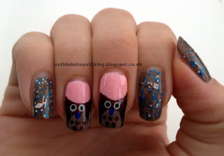 owl nail tutorial