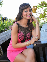 Shilpi Sharma sizzling pics in Pink-cover-photo
