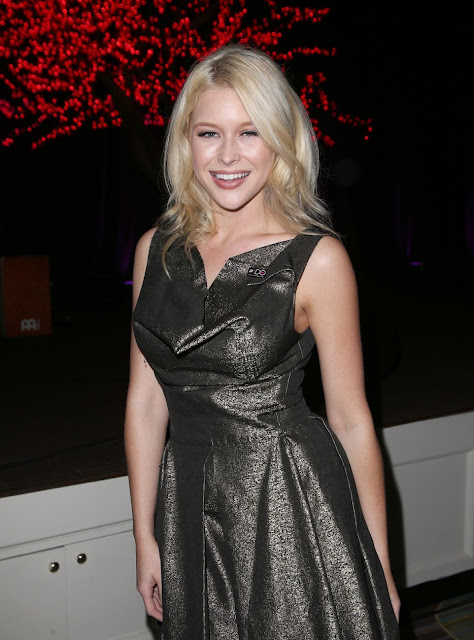Actress, Singer @ Renee Olstead attends The Humane Society Los Angeles Benefit Gala