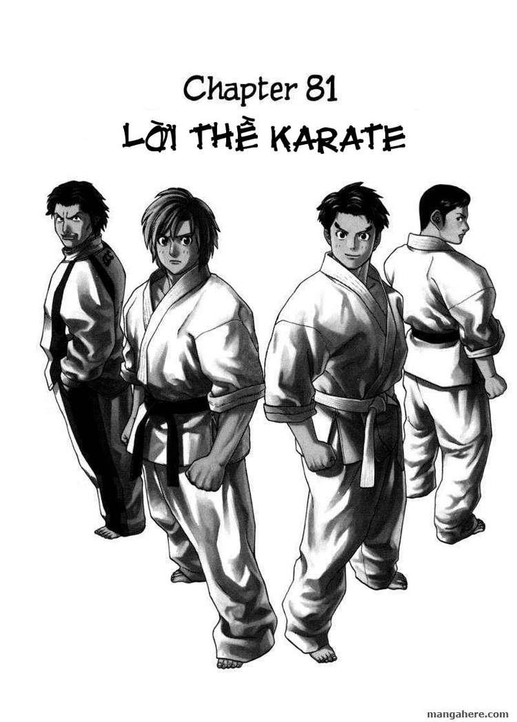 Karate Shoukoushi Kohinata Minoru chap 81 Trang 4