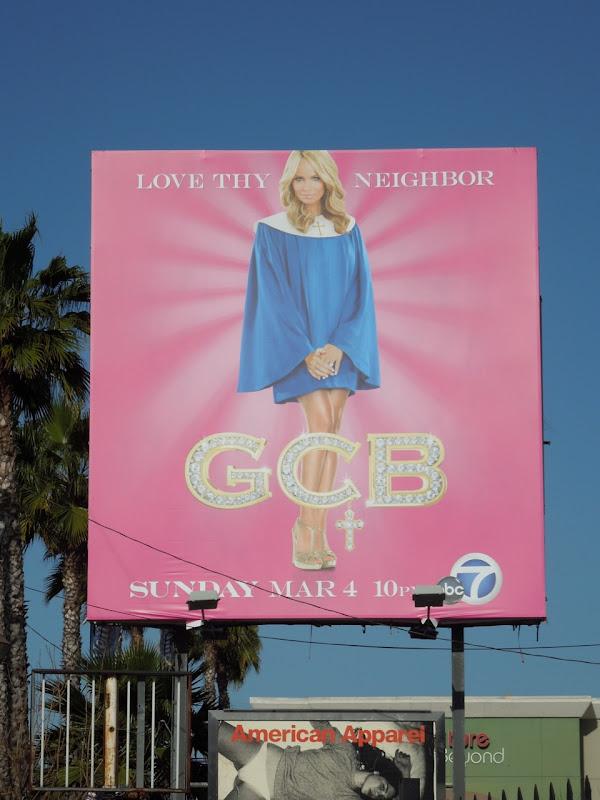 GCB Kristin Chenoweth billboard