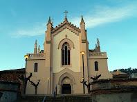 Façana de llevant de l'església de Sant Martí de Torrelles