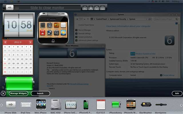 Windows 8 iOS look
