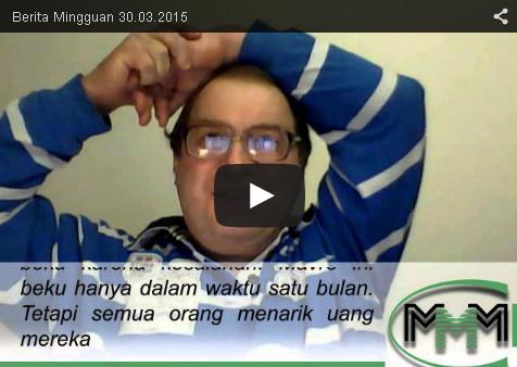 News Update Berita Mingguan MMM Mavrodi Indonesia Tanggal 30 Maret 2015