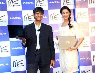 Nargis Fakhri at the unveil of HCL ME Ultrabook