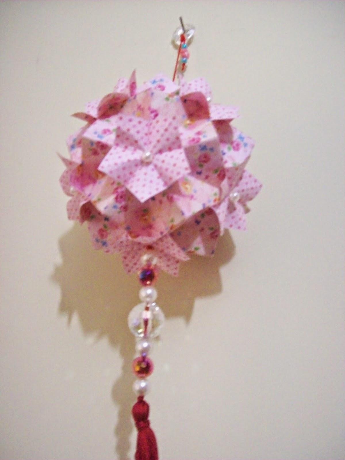 Kusudama Spring Grande - Rosa