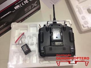 Radio Controle para Drones e Quadricopteros